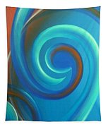 Cosmic Swirl By Reina Cottier Tapestry