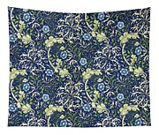 Blue Daisies Design Tapestry
