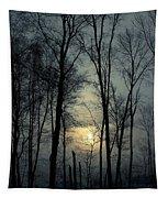 Blue Daybreak Tapestry