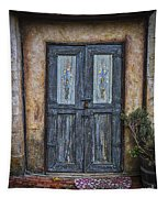 Blue Doors Tapestry