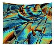 Blue Flowpaper Solarized Tapestry