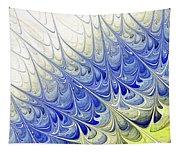 Blue Folium Tapestry