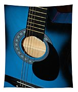 Blue Guitar Tapestry