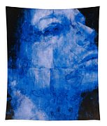 Blue Head Tapestry