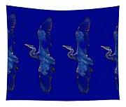 Blue Heron Ballet Tapestry