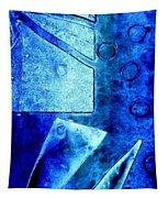 Blue   II Tapestry