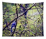 Blue Jay - Paint Effect Tapestry