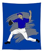 Blue Jays Shadow Player3 Tapestry