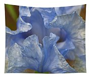 Blue Lilac Iris Tapestry