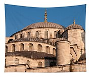 Blue Mosque Domes 05 Tapestry