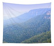 Blue Mountains Panorama Tapestry