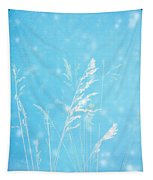 Blue Nature Tapestry