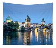 Blue Prague Tapestry
