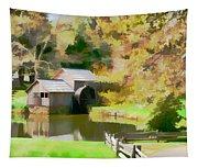 Blue Ridge Grist Mill Tapestry