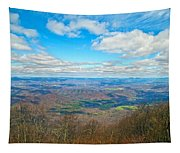 Blue Ridge Parkway Beautiful View Tapestry