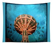 Blue Sky Swings Tapestry