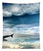 Blue Sky Wing Tapestry