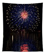 Blue Spectacular Tapestry