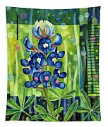 Blue Tapestry Tapestry
