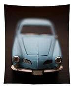 Blue Toy Car Tapestry