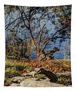 Blue Water 3 Tapestry