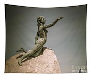 Blue Water Maiden Tapestry