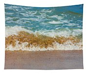 Blue Wave Tapestry