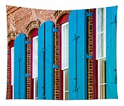 Blue Windows Tapestry