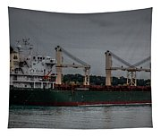 Blue Wing Tapestry