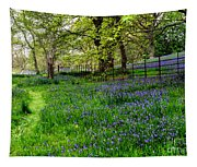 Bluebell Way Tapestry