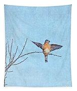 Bluebird Wings - Minimalism Tapestry