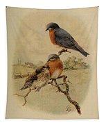 Bluebirds Tapestry