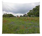 Bluebonnet Hill Tapestry