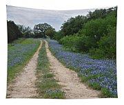 Bluebonnet Trail Tapestry