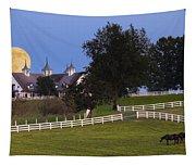 Bluegrass Moonrise Tapestry