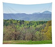 Blueridge Mountains In The Spring Tapestry