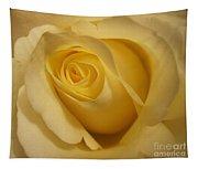 Blushing Cream Rose 3 Tapestry