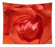 Blushing Orange Rose 5 Tapestry