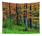Blustery October Weather Tapestry