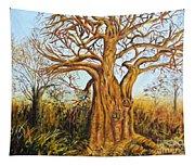 Baobab Tree Tapestry