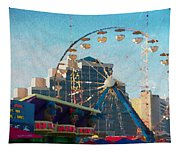 Boardwalk Ferris  Tapestry