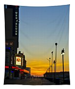 Boardwalk House Of Blues At Sunrise Tapestry