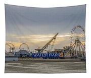Boardwalk Waterpark Wildwood New Jersey Tapestry
