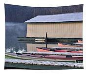 Boat Dock Tapestry