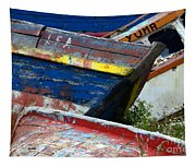 Boat Graveyard Peurto Natales Chile 7 Tapestry