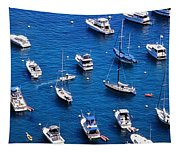 Boat Parking Tapestry
