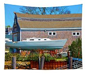 Boat Repair Shop Number Two Tapestry