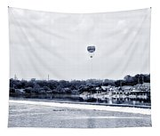 Boathouse Row And The Zoo Balloon Tapestry