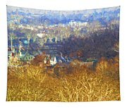 Boathouse Row Impasto Tapestry
