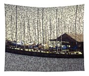 Boats And Bubbles 2 Tapestry